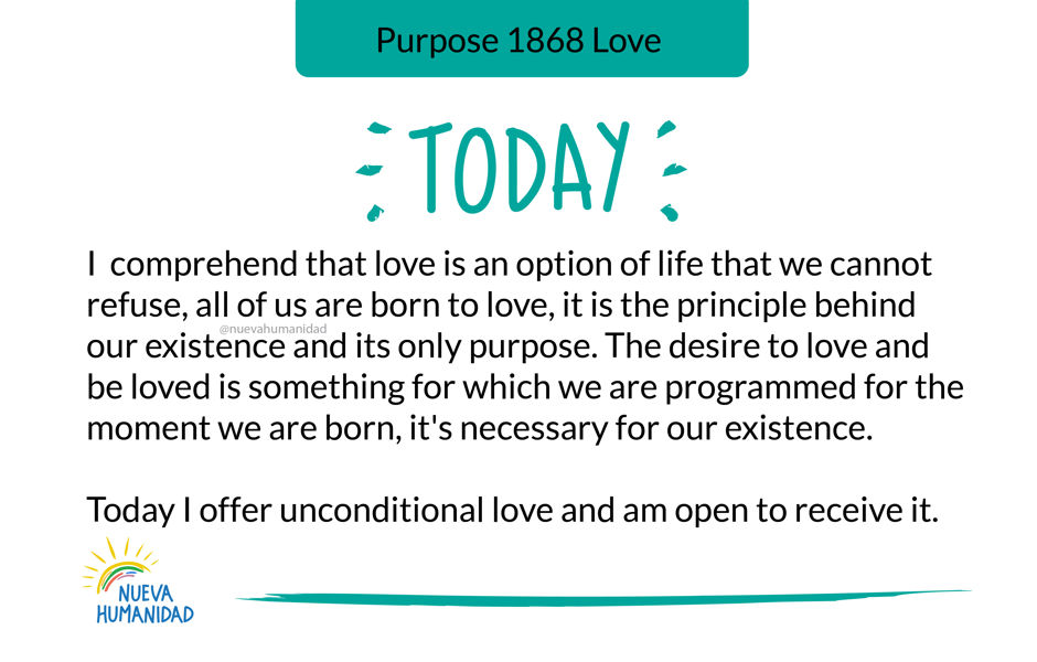 Purpose 1868 Love