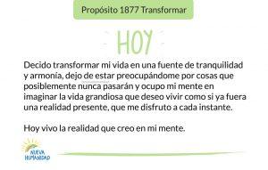 Propósito 1877 Transformar