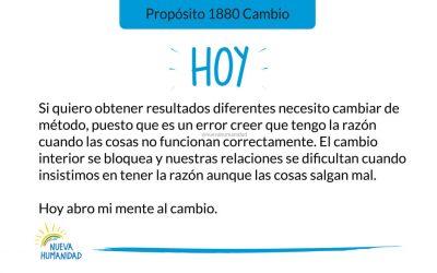 Propósito 1880 Cambio