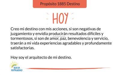 Propósito 1885 Destino