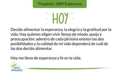 Propósito 1889 Esperanza