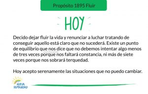 Propósito 1895 Fluir