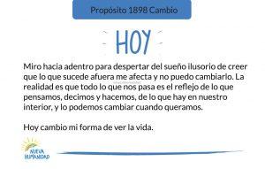 Propósito 1898 Cambio