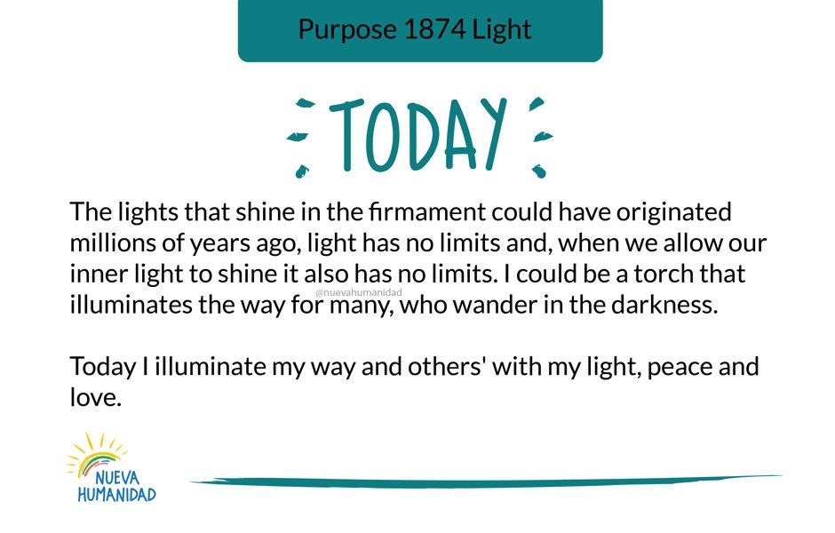 Purpose 1874 Light