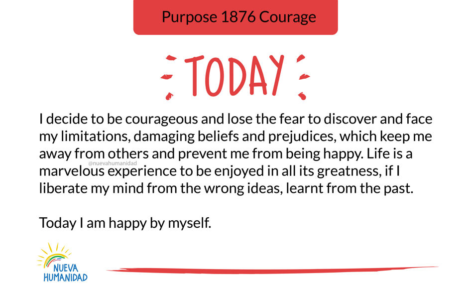 Purpose 1876 Courage