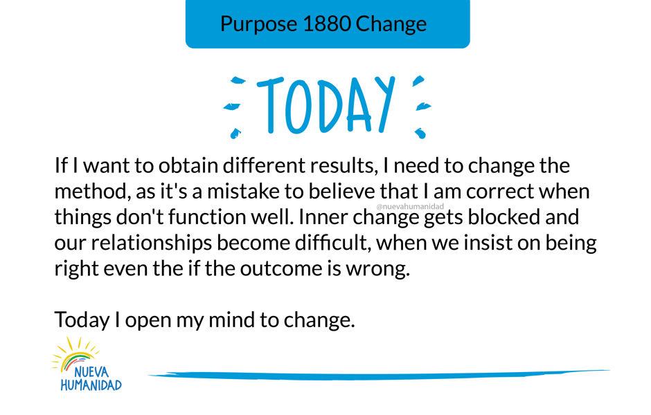 Purpose 1880 Change
