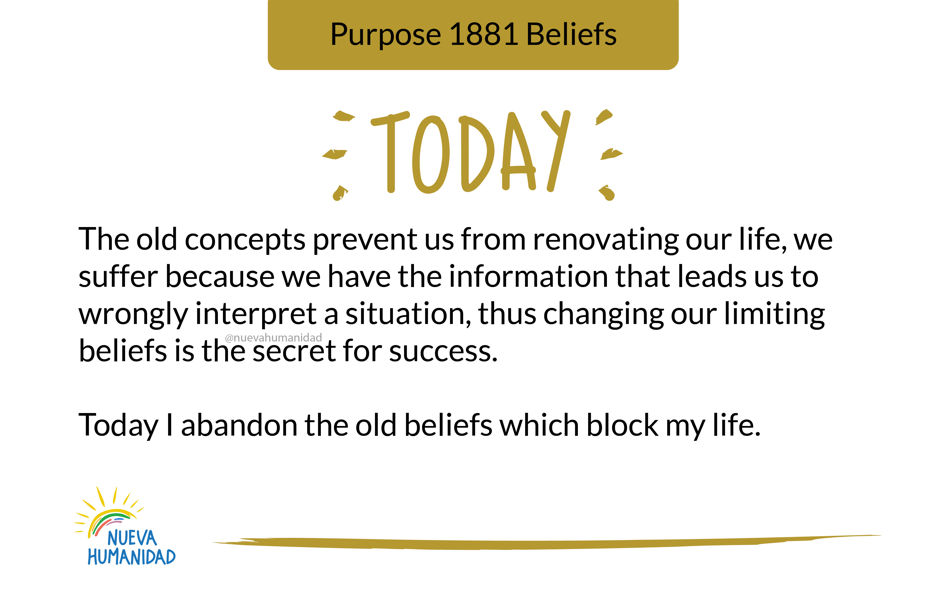 Purpose 1881 Beliefs