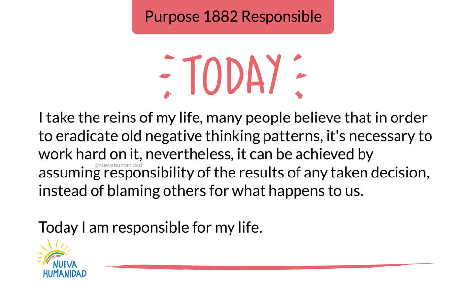 Purpose 1882 Responsible