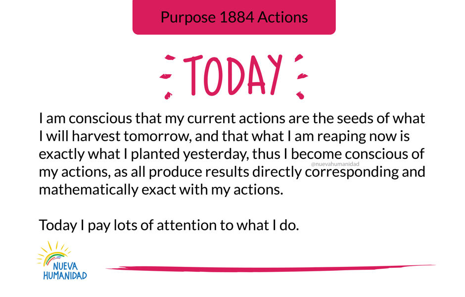 Purpose 1884 Actions