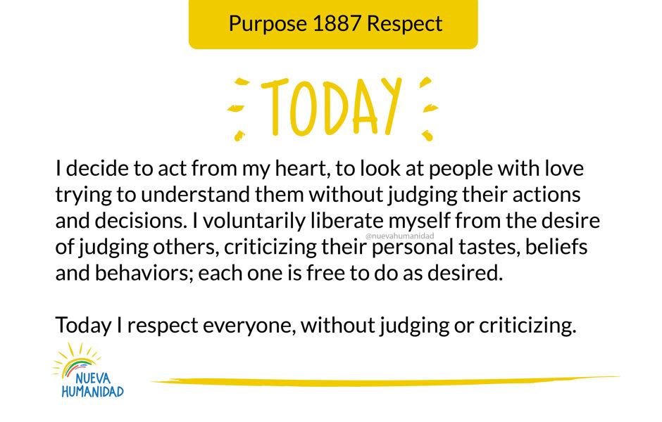 Purpose 1887 Respect