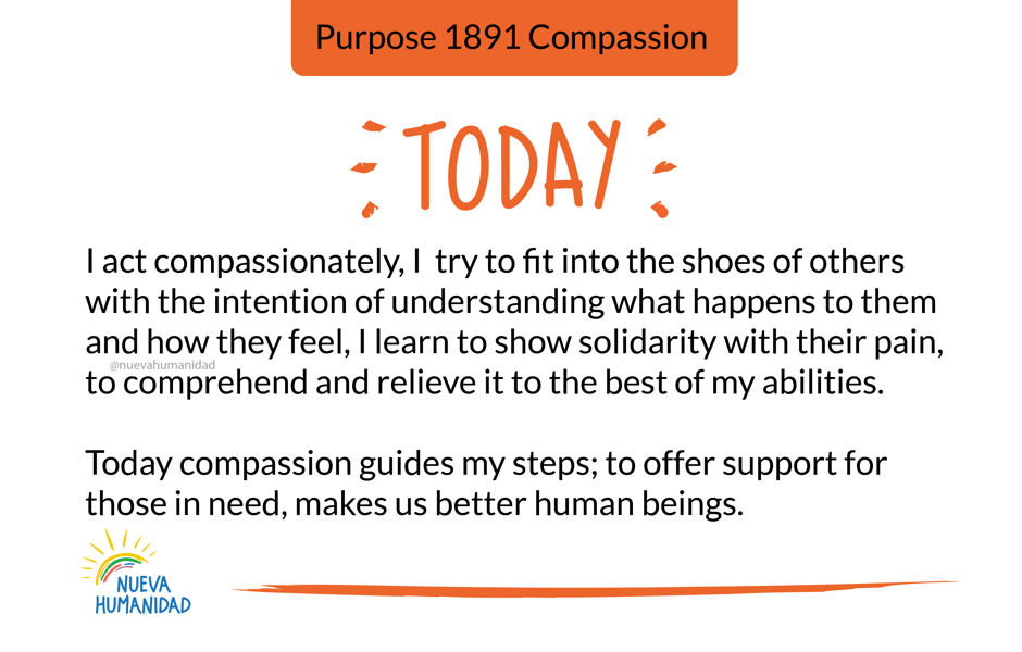 Purpose 1891 Compassion