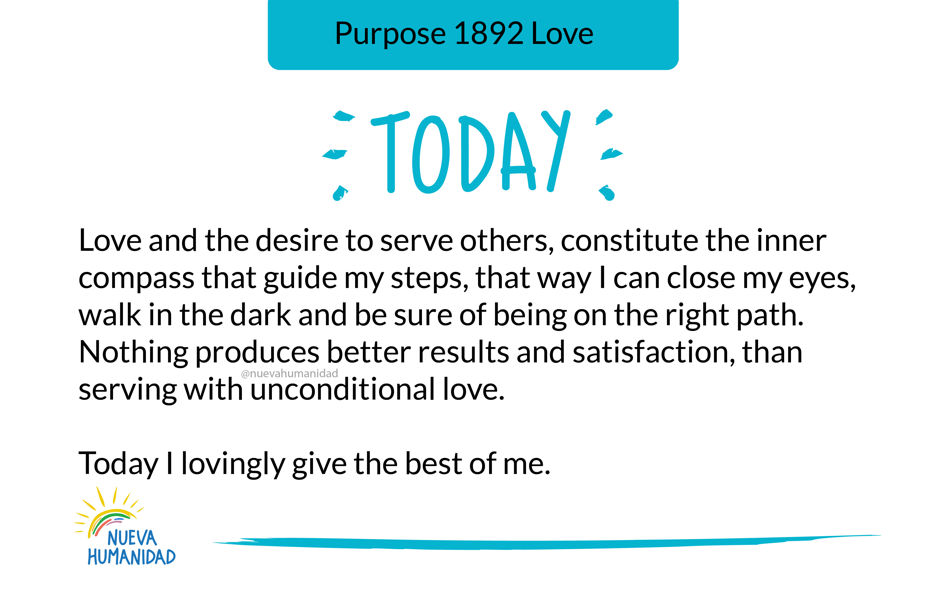 Purpose 1892 Love