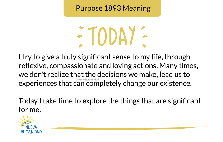 Purpose 1893 Meaning