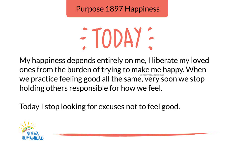 Purpose 1897 Happiness