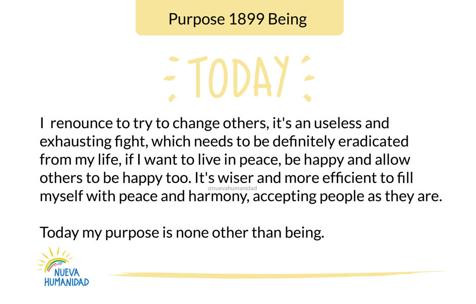 Purpose 1899 Being