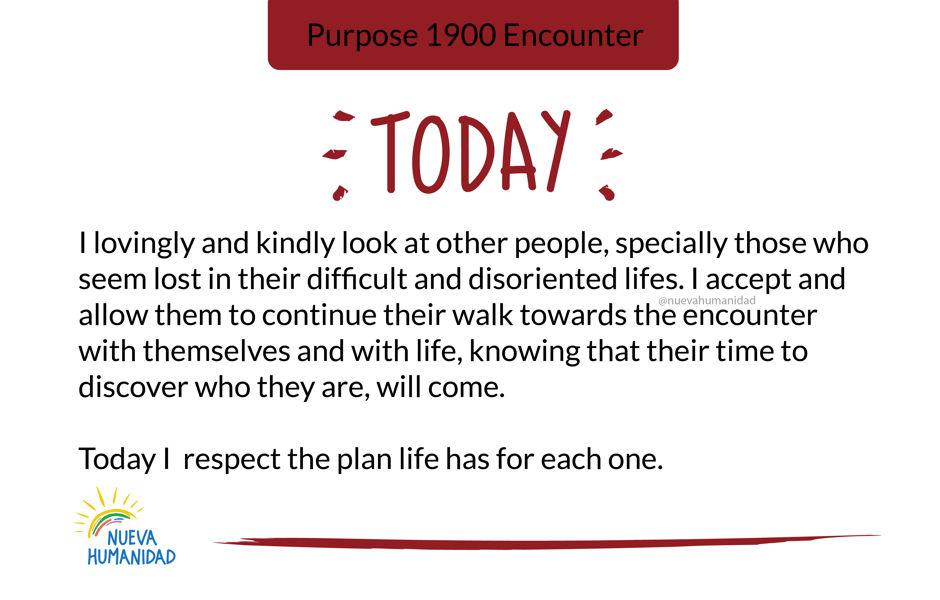 Purpose 1900 Encounter