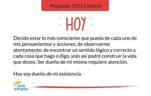 Propósito 1912 Pensamientos