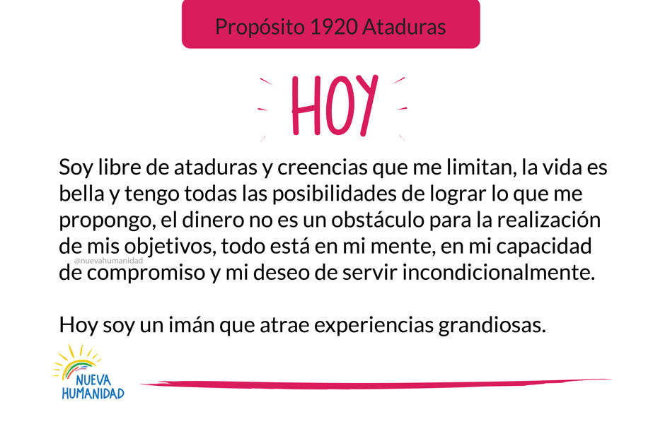Propósito 1920 Ataduras