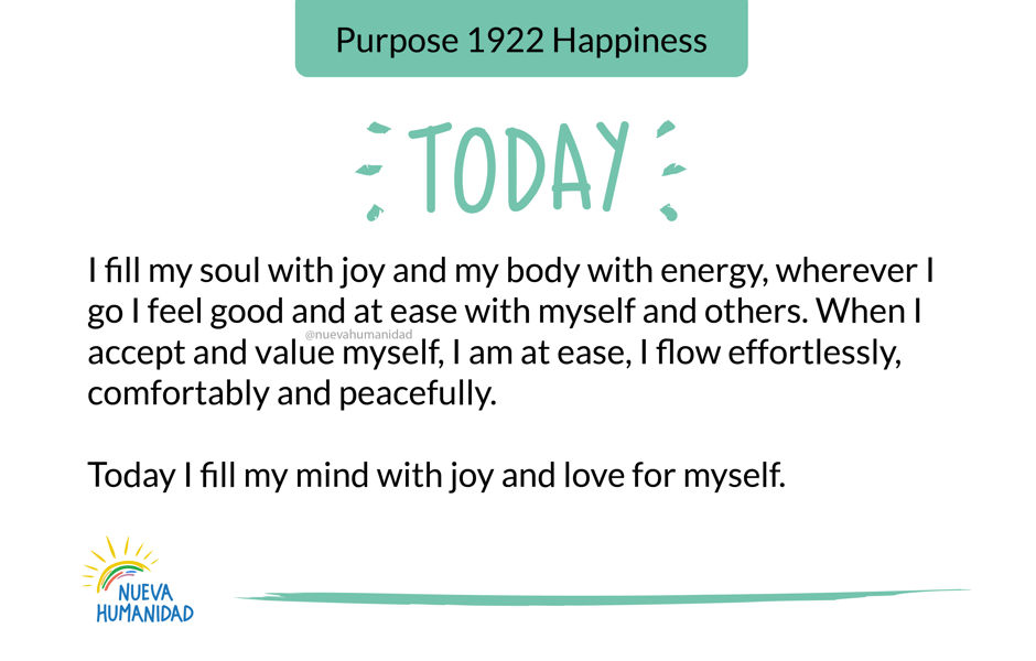 Purpose 1922 Happiness