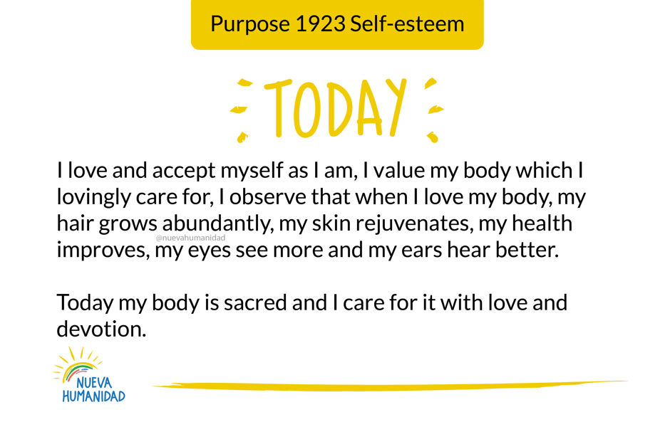 Purpose 1923 Self-esteem