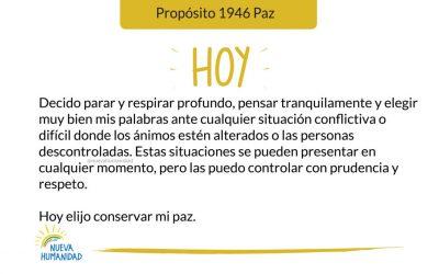 Propósito 1946 Paz