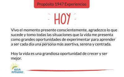 Propósito 1947 Experiencias