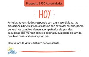 Propósito 1950 Adversidades