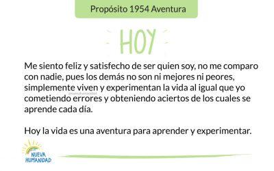 Propósito 1954 Aventura
