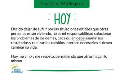 Propósito 1960 Respeto