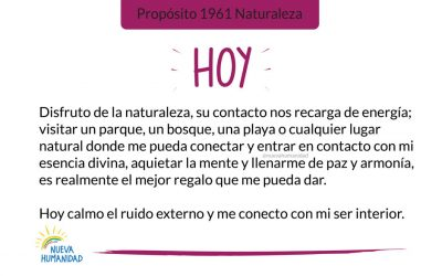 Propósito 1961 Naturaleza