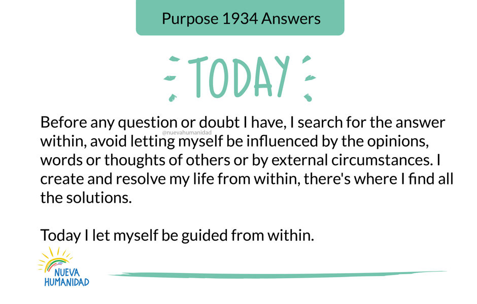 Purpose 1934 Answers