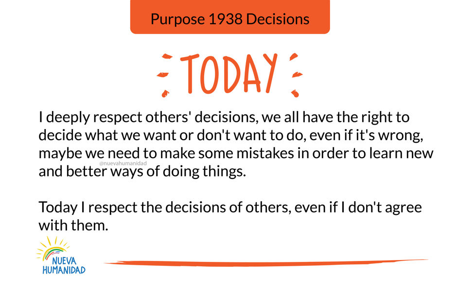 Purpose 1938 Decisions