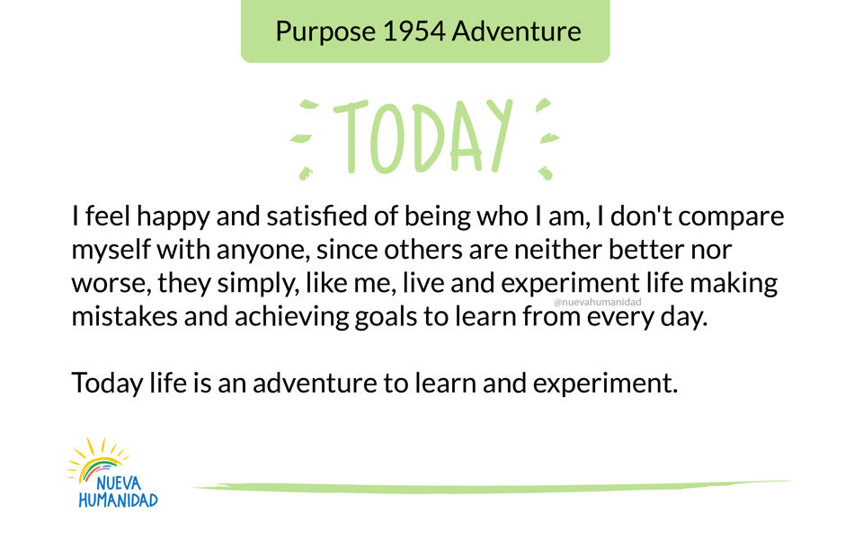 Purpose 1954 Adventure
