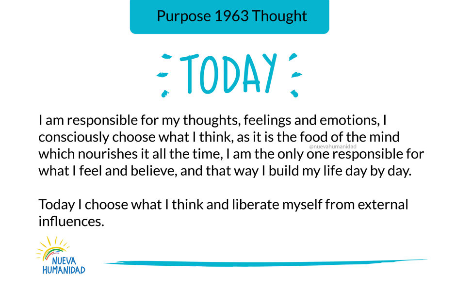 Purpose 1963 Thought