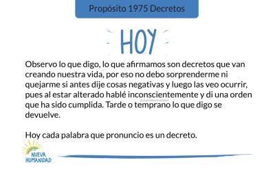 Propósito 1975 Decretos