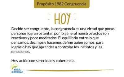 Propósito 1982 Congruencia