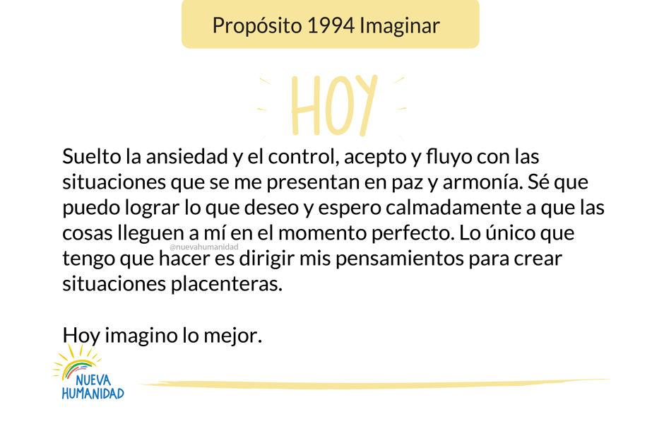 Propósito 1994 Imaginar