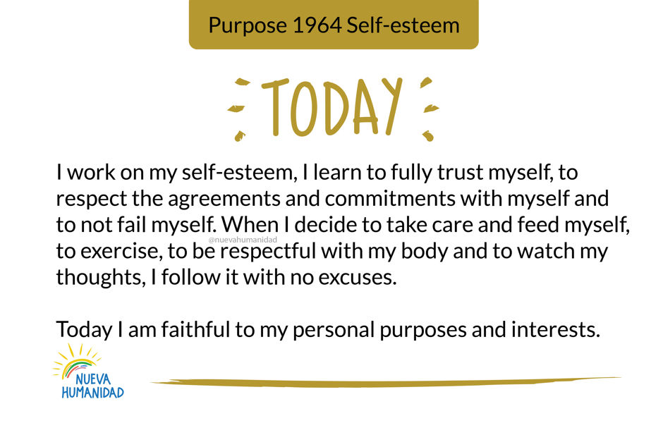 Purpose 1964 Self-esteem