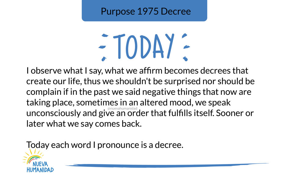 Purpose 1975 Decree