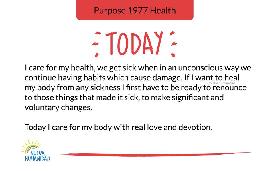 Purpose 1977 Health