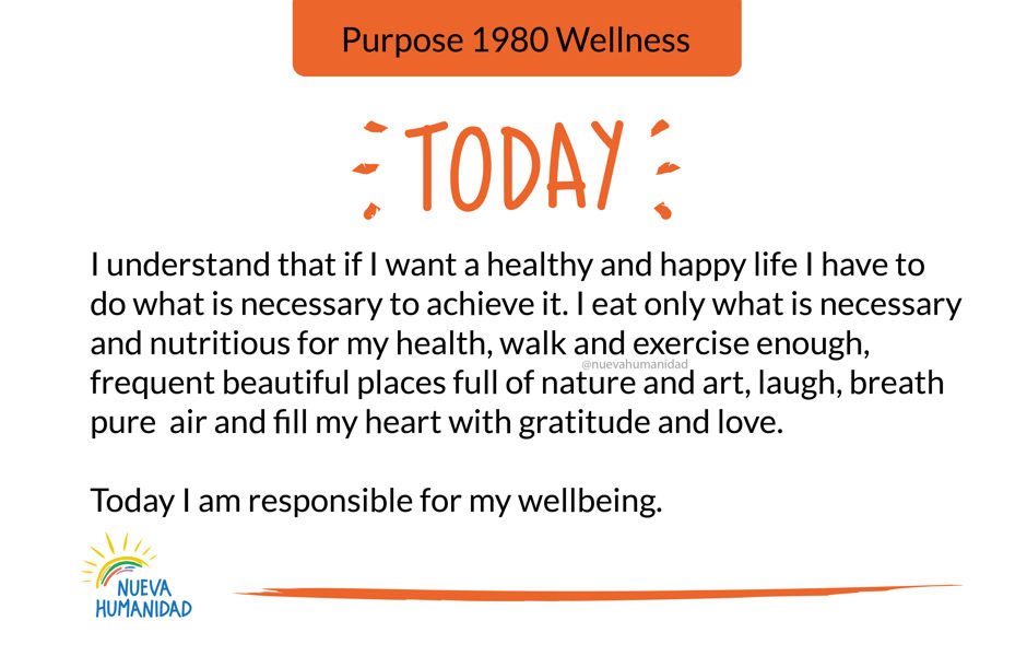 Purpose 1980 Wellness