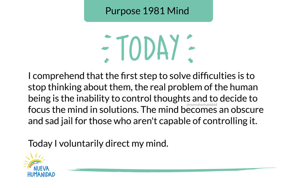 Purpose 1981 Mind