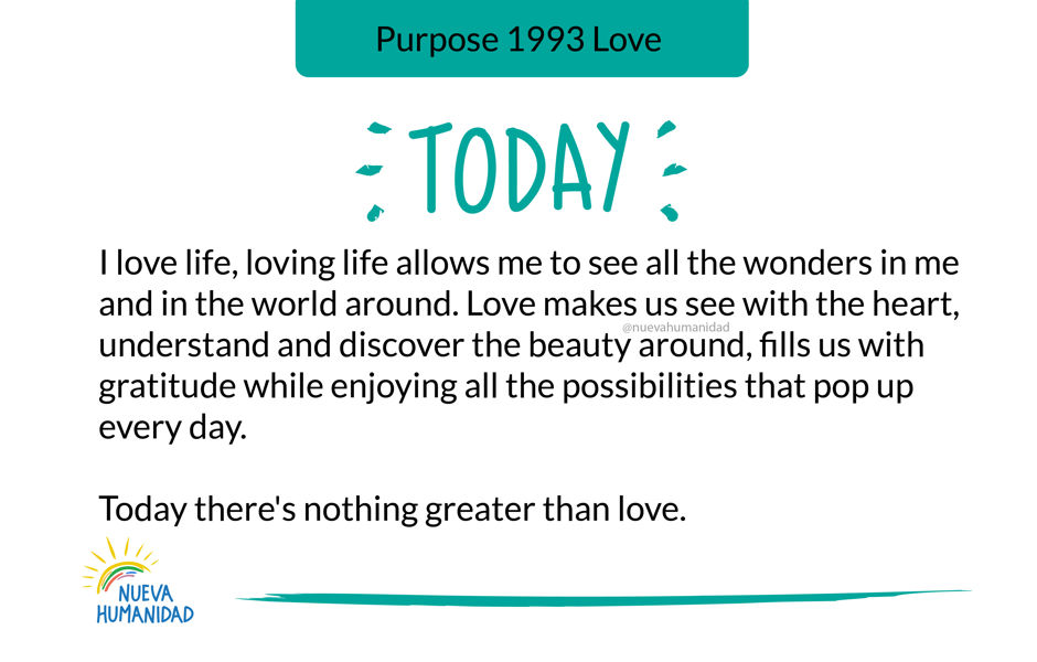 Purpose 1993 Love