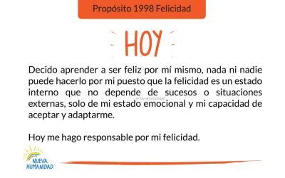 Propósito 1998 Felicidad