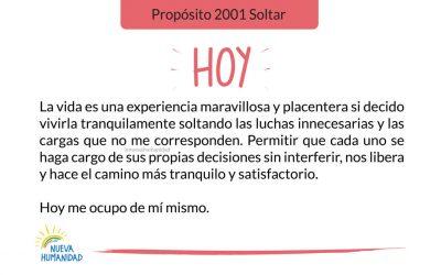 Propósito 2001 Soltar
