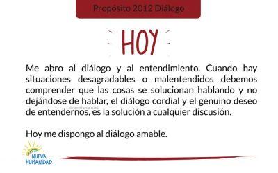Propósito 2012 Diálogo