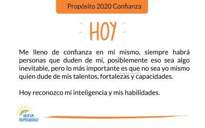 Propósito 2020 Confianza