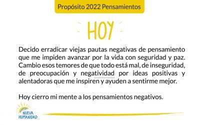 Propósito 2022 Pensamientos