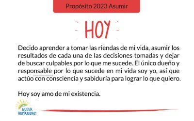 Propósito 2023 Asumir