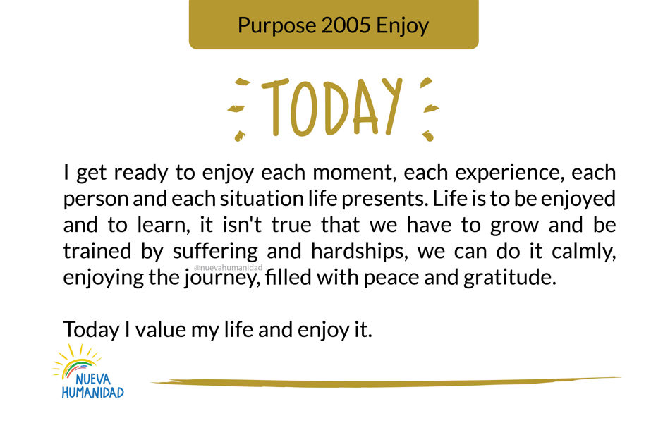 Purpose 2005 Enjoy